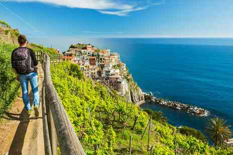 just you - Coastal Italy walking holiday with tours, flights and more - Save 0%