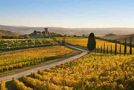 just you - Tuscany guided walking tour including BA Flights, tours, meals and more - Save 0%