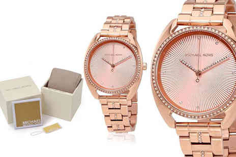 Best Watch Company - Michael Kors MK3677 Libby ladies rose gold tone watch - Save 56%