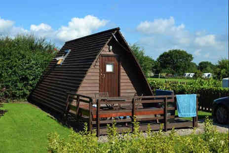 Harrisons Leisure - Overnight countryside Glamping stay - Save 55%
