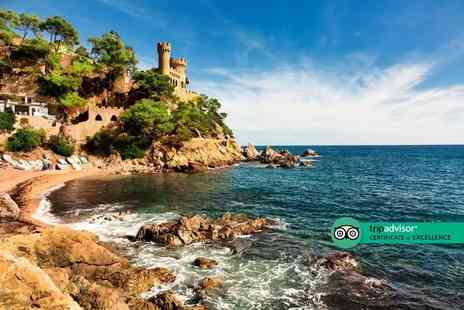 Travel Center - Two nights Costa Brava holiday with return flights - Save 33%