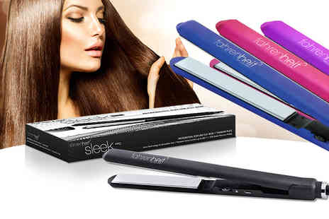 Deals Direct - Set of Fahrenheit hair straighteners choose from blue, black, pink or purple - Save 0%