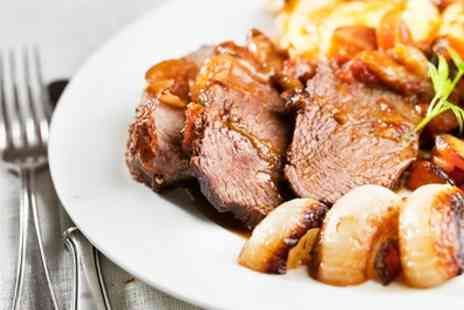 The Mill Bar and Grill - Sunday Roast with Coffee and Dessert for Two or Four - Save 44%