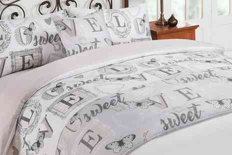 Groupon Goods Global GmbH - Six Piece Butterfly Complete Bedding Set - Save 0%