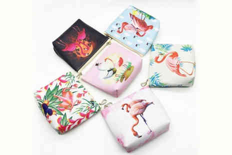 hey4beauty - Printed flamingo purse choose from six designs - Save 83%