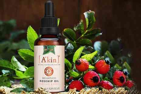 Deals Direct - Akin Weightless Rosehip Oil 45ml treat your skin - Save 0%