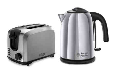 Smart Retail Goods - Russell Hobbs stainless steel kettle or two slice toaster - Save 0%
