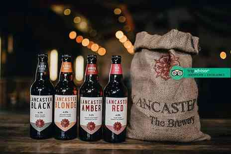 Lancaster Brewery - Brewery tour for two people including two pints each - Save 50%