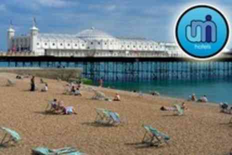 Umi Hotel - In Brighton One Night Stay For Two With Breakfast and Wine - Save 53%