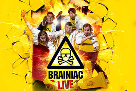 Waterfront Hall - One ticket or Two tickets to Brainiac Live kids show on 25th May - Save 54%