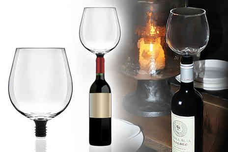 Deals Direct - Wine O Matic straight from the bottle glass - Save 0%