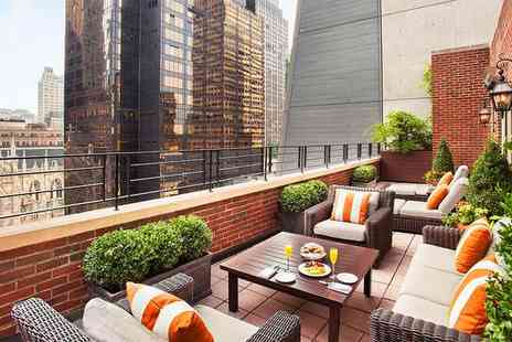 Omni Berkshire Place - Four Star Big Apple Break in Prime Central City Location - Save 70%