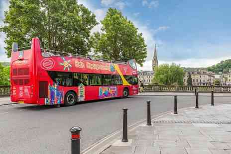 City Sightseeing Worldwide - Childs ticket for a hop on, hop off Bath sightseeing bus tour with two routes - Save 0%