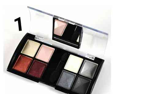 GetGorgeous - Eight colour compact mirror eyeshadow palette with two shade options Plus Delivery Included - Save 80%