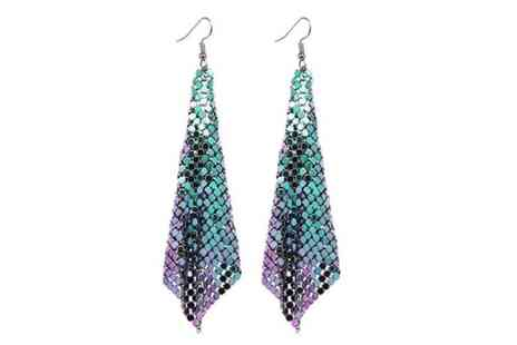 GetGorgeous - Pair of ocean mermaid earrings - Save 71%