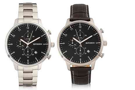 Breed Watches - Luxury Holden mens watch choose from five designs - Save 86%