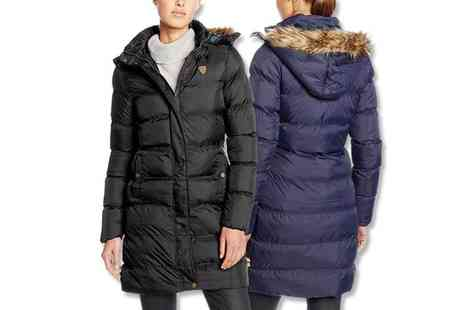 Deals Direct - Brave Soul puffer coat with detachable hood choose black or navy blue - Save 0%