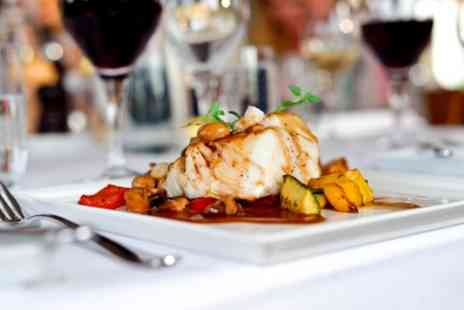 How Do You Do - Two Course Meal for Two or Four with a Glass or Bottle of Wine - Save 50%