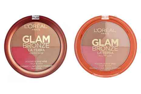 Groupon Goods Global GmbH - LOreal Paris Multi Tonal Glam Bronze Palette - Save 0%