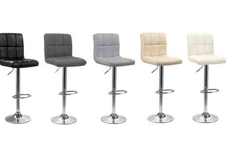 Groupon Goods Global GmbH - Two or Four Cube Bar Stools - Save 0%