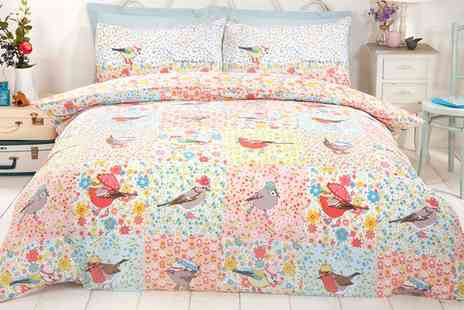 Groupon Goods Global GmbH - Rapport Home Hey Birdie Duvet Set - Save 0%