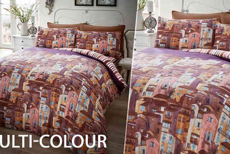 luxury bed and warehouse - Rural Italy Duvet Set in 2 Sizes Choose from 4 Colours - Save 71%