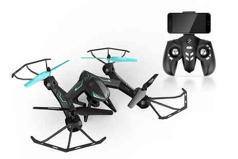 Deals Direct - Remote controlled camera stunt drone - Save 0%