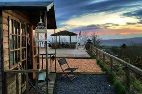 Abels Harp - 1 or 2 Nights Glamping for Two with Breakfast, Hot Tub Access and Wine or Gin Cream Tea - Save 0%