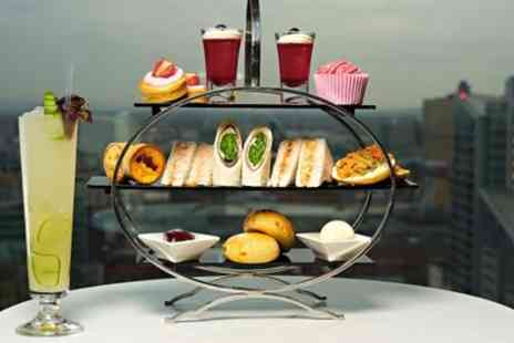 Cloud 23 - Afternoon Tea with Cocktail Each for Two or Four - Save 44%