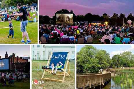 Luna Kids Cinema  - Enjoy The UK First Open Air Cinema Designed for Kids this Half Term - Save 27%