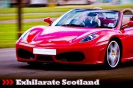Exhilarate Scotland - Supercars Four Car Driving Experience Along Dukes Pass - Save 76%