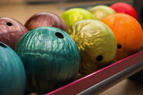 Disco Bowl - Two games of bowling and shoe hire for up to four - Save 79%