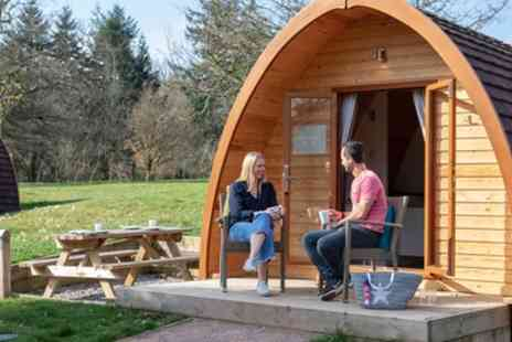 Whitemead Forest Park - Four Nights Glamping Pod Stay for Four People - Save 0%