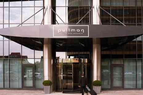 Hotel Pullman Brussels Centre Midi - Four Star Upscale Design Hotel with Central Location for two - Save 41%