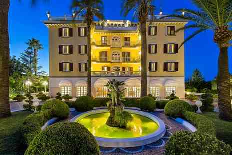 La Medusa Hotel and Boutique Spa - Four Star 18th Century Building with Mount Vesuvius Views for two - Save 79%