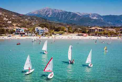Ocean Elements - Seven nights Greece beach holiday with flights and watersports - Save 0%