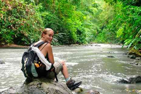 STA Travel - Costa Rica wellness adventure including yoga and thermal pools - Save 0%