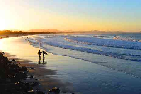 STA Travel - Byron Bay surfing and yoga break - Save 0%