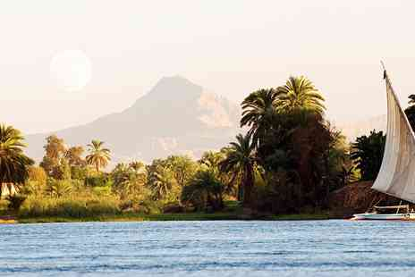 2TemptU Travel - Seven nights Nile cruise and three nights Cairo break including flights - Save 0%