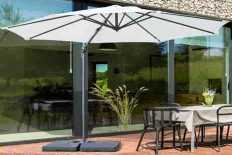 Mhstar - Outsunny garden parasol choose from two colours - Save 61%