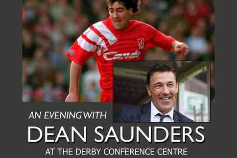 Derby Conference Centre - Standard ticket to An Evening with Dean Saunders including dinner and comedy on 7th June - Save 51%