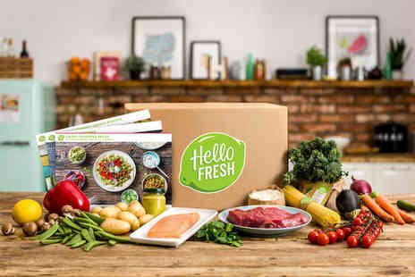HelloFresh - Classic HelloFresh box for two people with three meals each for one week - Save 0%