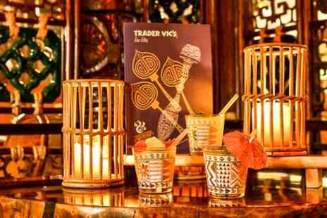 Trader Vics - Three Course Meal with Drink for Two - Save 48%