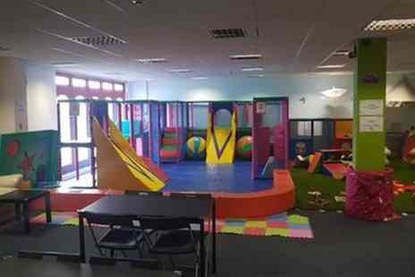 Tots Tower - Soft Play Entry and Drink for One or Two Children - Save 33%
