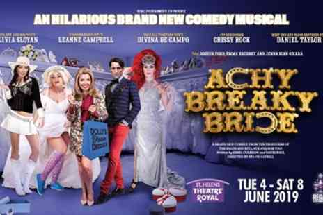 Achy Breaky Bride - One best available ticket on 4th To 6th June - Save 36%