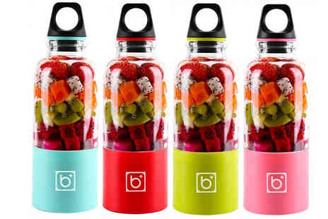HXT Goods - 500ml Portable Juice Maker Choose from 4 Colours - Save 68%