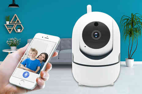 Hirix - Home security HD tracking WiFi IP camera or camera with SD card - Save 76%