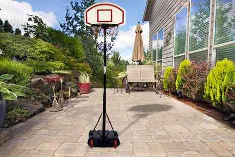 Zoozio - Free standing adjustable basketball hoop - Save 63%
