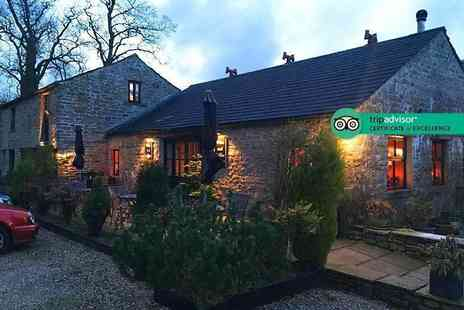 The Old Dairy Farm - Two nights Yorkshire Dales stay for two people including a full English breakfast each morning and a two course dinner on the first night - Save 53%