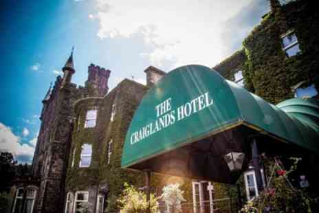 The Craiglands Hotel - 1 or 2 Nights Stay for Two with Breakfast and Option for Dinner - Save 37%